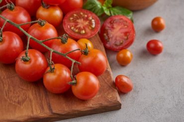 Tomatensoep van verse tomaten