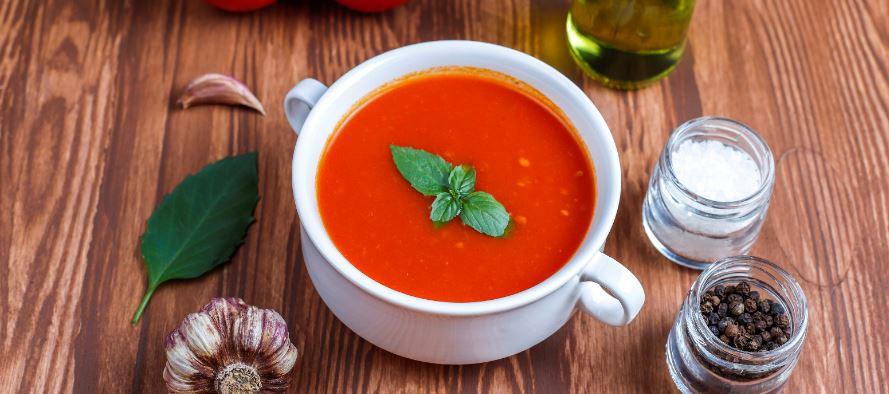 vegetarische tomatensoep maken
